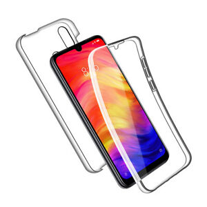 SDTEK-Case-for-Xiaomi-Redmi-Note-7-Full-Body-360-Gel-Cover-Front-and-Back