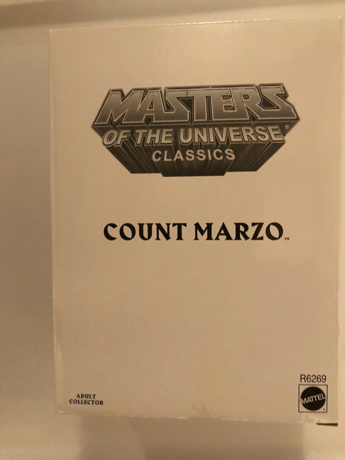 Masters of The Universe Classics Count Marzo MISB He-Man Matty Collector