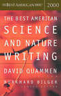 The Best American Science and Nature Writing 2000 by David Quammen (Paperback, 2000)