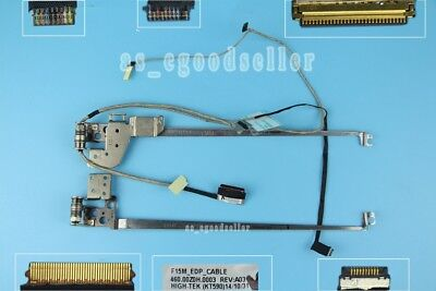 """LCD LED Video Screen Cable for Lenovo Flex 2-15 With R /& L Hinge 15.6/"""" 30Pin EDP"""