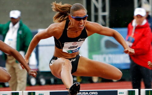 """020 Lolo Jones American Track Field Bbobsled Athlete 39/""""x24/"""" Poster"""