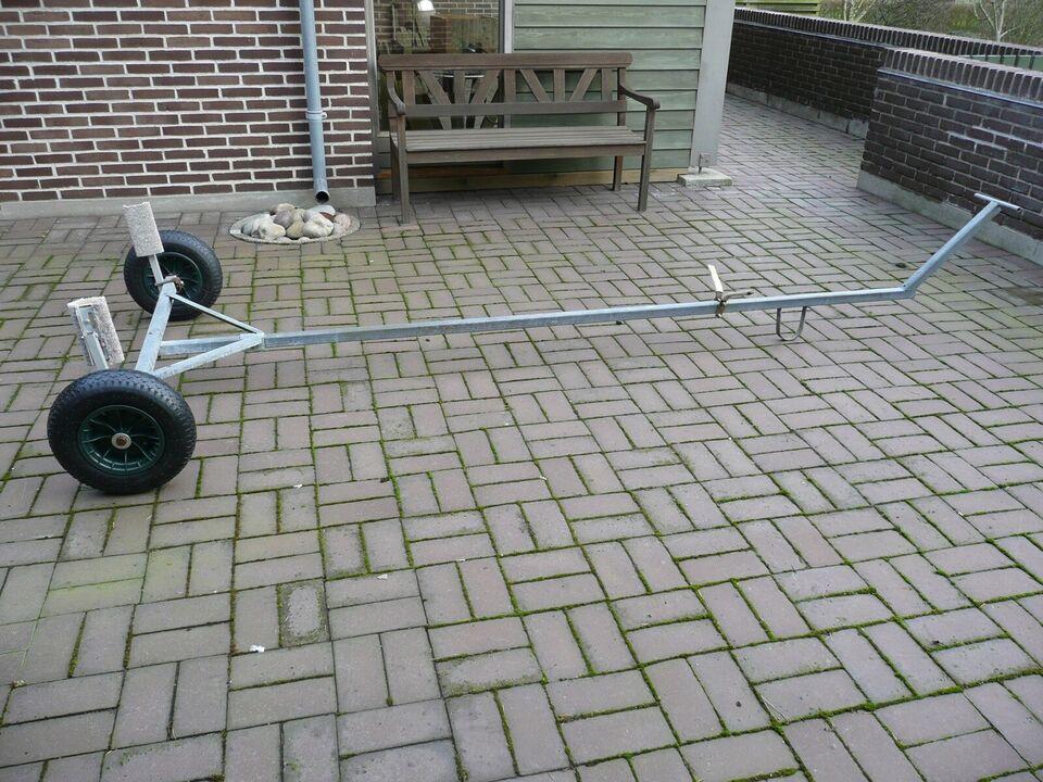 Ophalervogn Galvaniseret ophalervogn med nye 4...