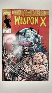 MARVEL COMICS PRESENTS #79  1st Printing - Wolverine - Weapon X    / 1991 Marvel