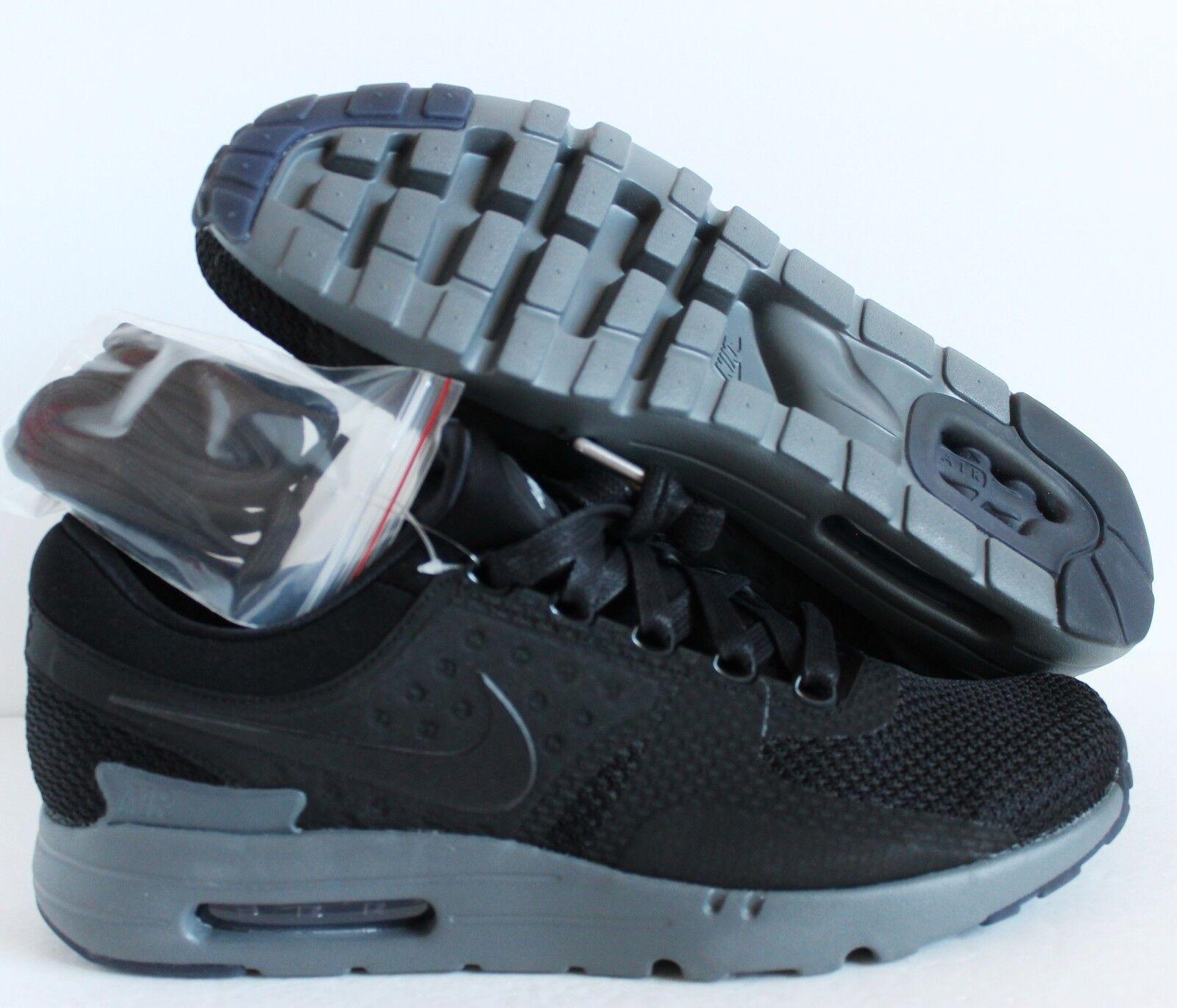 Nike air zero max zero air qs nero-dark grey sz 12 [789695-001] a57c99