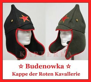 Details about ☆ Russian Red Army Cavalry Hat Cap budenowka Budenovka budjonowka ☆ show original title