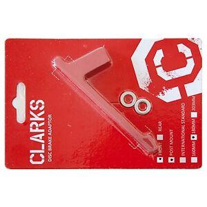 Clarks-Adaptateur-de-Disque-Frein-Rouge-Roue-avant-pour-180-mm-Pm