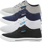 Mens Henleys Canvas Shoes Designer Lace Up Pumps Trainers Plimsoles Footwear BC