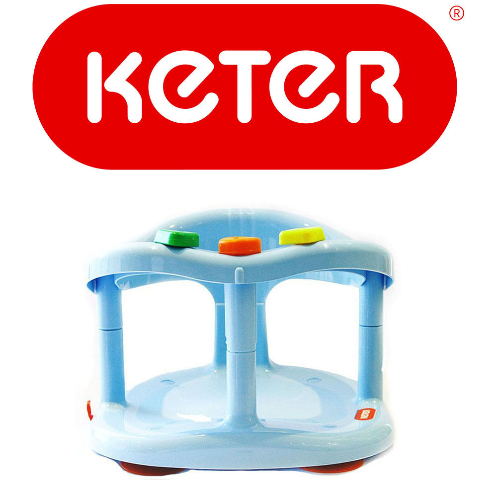 Keter Infant Baby Bath Tub Ring Safety Seat Anti Slip Chair Durable ...