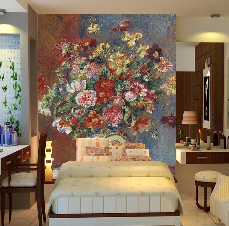 Papel Pintado Mural De Jarrón Vellón Flores Jarrón De En Relieve 23 Paisaje Fondo Pantalla 2536e3