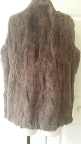 Size Real Rabbit 100 Luxe Small Vest America Nwot Fur 525 gw8IP