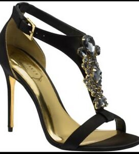 Ted-Baker-London-NAISS-Jeweled-Open-Toe-Stiletto-Sandals-Evening-MSRP-280-NEW