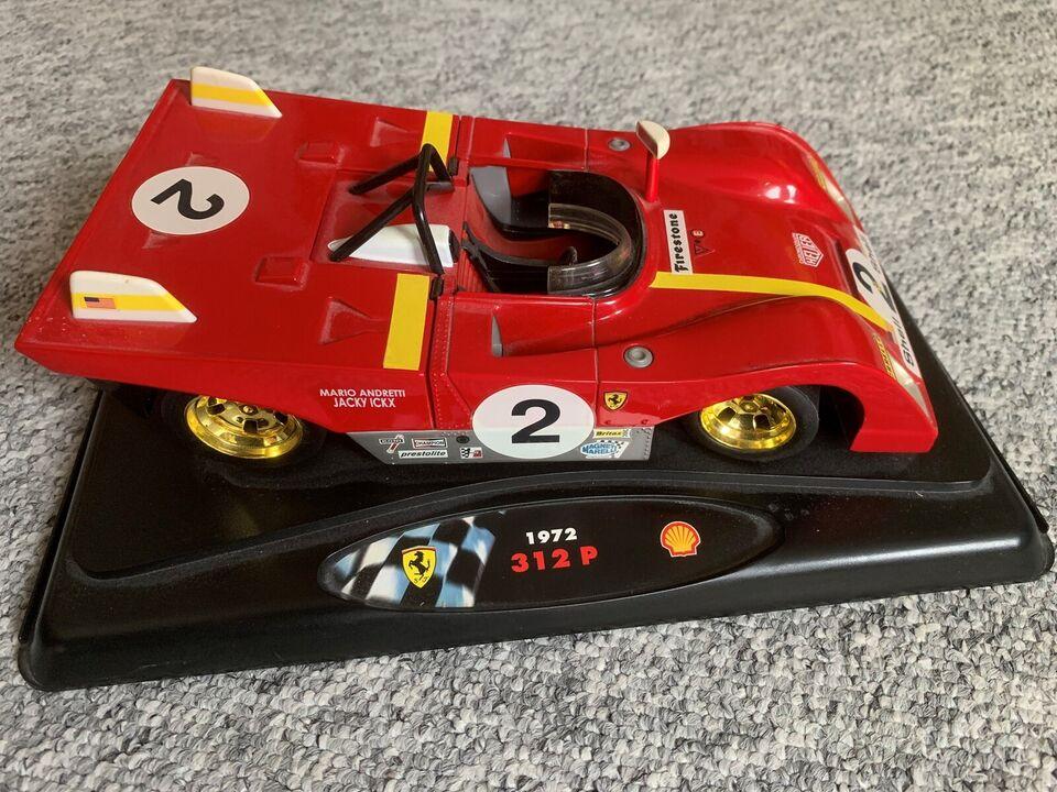 Modelbil, Ferrari 312 P, skala 1:18
