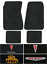 4spd 1968-1972 Pontiac GTO Floor Mats 4pc LoopFits