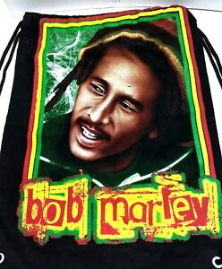 Bob-Marley-Multi-Color-AND-Black-White-Cinch-Sack-Backpack-Bookbag