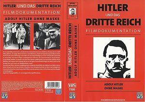 VHS-Hitler-und-das-Dritte-Reich-Adolf-Hitler-ohne-Maske-Filmdokumentation