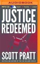 Justice Redeemed by Scott Pratt (2015, MP3 CD, Unabridged)