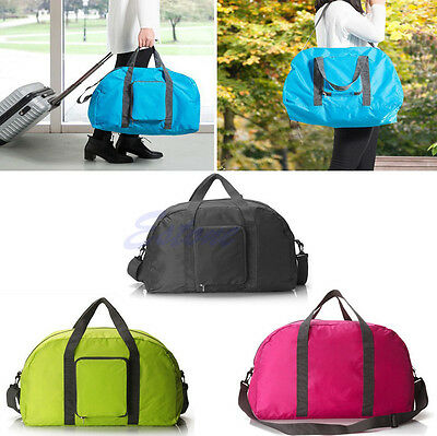 Storage Handbag Folding Shopping Travel Luggage Shoulder Bag Pouch Tote Reusable