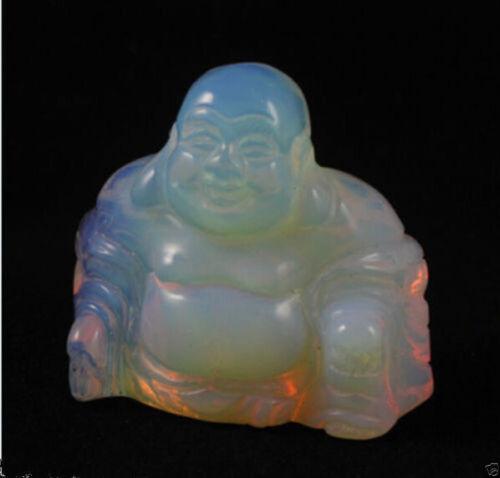 Sri Lanka Moonstone Hand Carved Buddha Gemstone statue Small statue