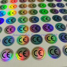 1500pcs Ce Hologram Labels Sticker Waterproof