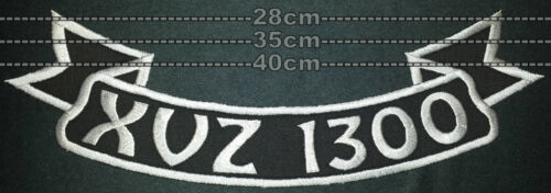 Patch ricamate xvz1300 #107 schiena fiocco PATCH RICAMATE 28-35 o 40cm di larghezza