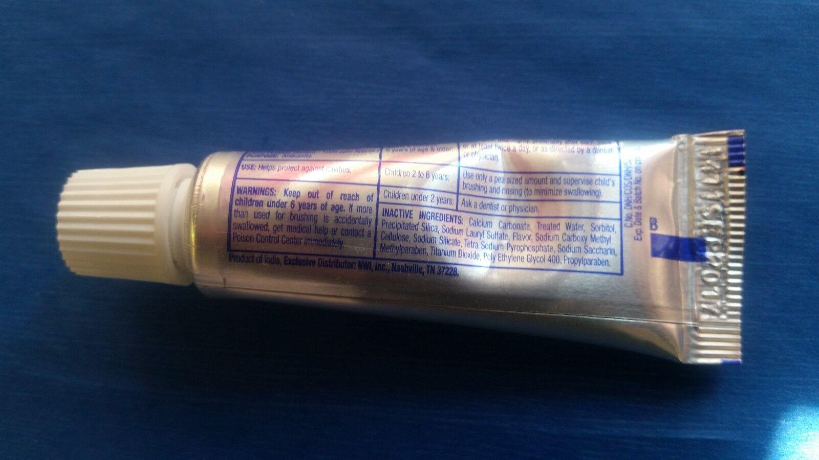 288 TUBES TOOTHPASTE WHOLESALE FRESHMINT 0.6 oz oz oz CHARITIESTRAVELPETS 5bb5a8
