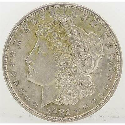1921 Morgan Silver Dollar Lot 618