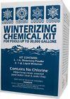 Swimming Pool Winterizing Kit 30,000 Gallon  Liquid Winterizer and Winter Powder