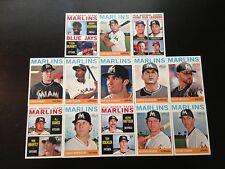 Topps 2013 Team Set - Miami Marlins.