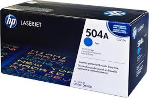 NEW HP CE251A Cyan  504a Toner Cartridge  Genuine