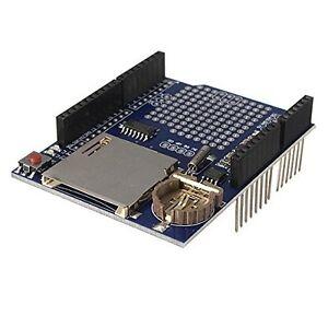 Data Logger Module Logging Shield Data Recorder Shield for Arduino UNO w SD Card