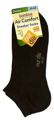 NUR DIE 3 Paar Damen Air Comfort Sneaker Socke