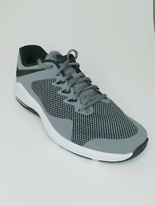 Details about Nike Air Max Alpha Trainer men running shoe sz 8.5 grey black sneaker AA7060 020