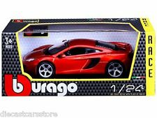 BBURAGO McLAREN MP4-12C COPPER/ORANGE 1/24 DIECAST NEW IN BOX 18-21074COP