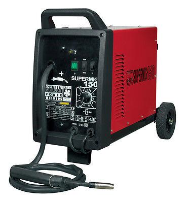 Sealey SUPERMIG150 150Amp GAS Mig Welder UNIT + Wire, 0.6mm Tips, & Regulator