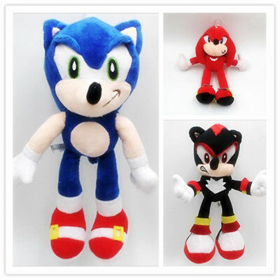 Toys Hobbies Tv Movie Character Toys 3x Sonic The Hedgehog 10 Sonic Shadow And Knuckles Plush Dolls Tv Movie Character Toys Ewdifh Net