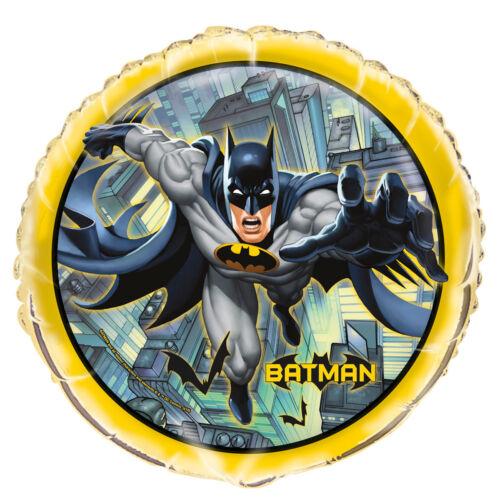 """BATMAN DC COMICS Super Héros Fête Décoration 18/"""" Joyeux Anniversaire Feuille Ballon"""