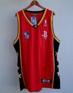 Details about 2004 NBA CHINA GAMES ROCKETS vs. KINGS REEBOK STITCHED BASKETBALL JERSEY XL NWT!