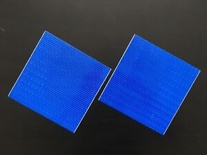 150x150 mm High Intensity Reflective Tape Self adhesive High Viz 2Pieces GYellow