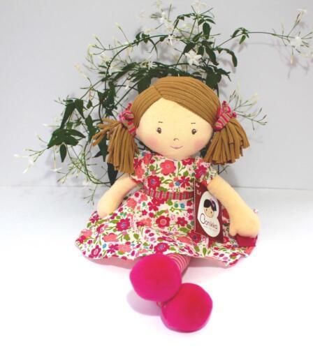 Personalised Katy Bambola di pezza 40cm Baby Bambino qualsiasi nome ricamato Imajo bonikka