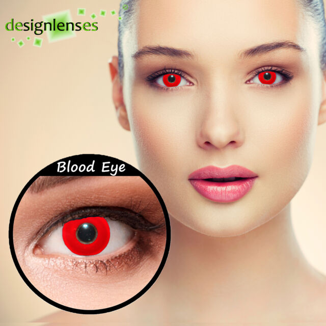 Colored contact lenses crazy contact lenses vampire zombie lenses Designlenses©