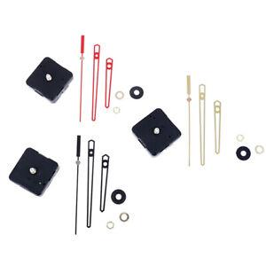 Mecanismo-de-movimiento-reloj-pared-cuarzo-reparacion-bricolaje-Oro-Eje-largo