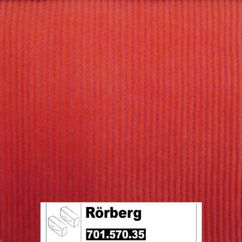 IKEA Rörberg Bezug für Armlehnen in Leaby orange 701.570.35 Paar