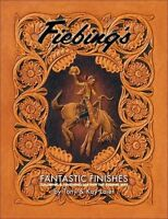 Fiebing's Fantastic Finishes Leather Craft/art How To Instructions/samples Book