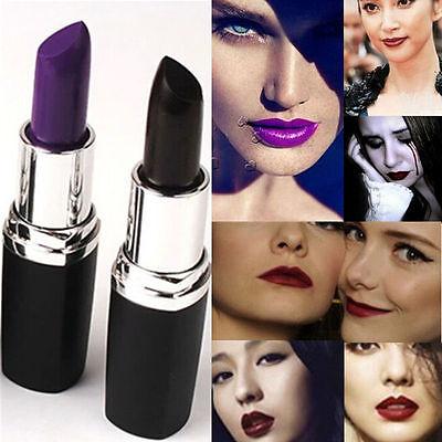Vogue Beauty Cosmetic Makeup Moisturize Lipstick Lip Stick Lip Gloss Black