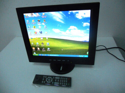 12.1 inch TFT LCD Monitor analog TV AV VGA HDMI Input Port+USB port+audio port