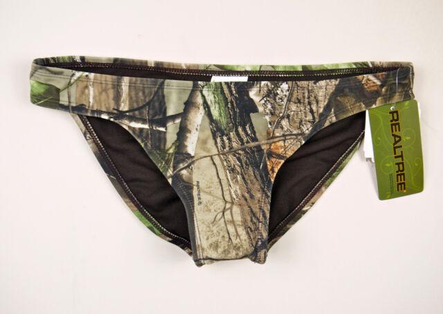 RealTree Women's Camo Swimsuit: Tankini, Halterkini, Bikini Top or Bottom
