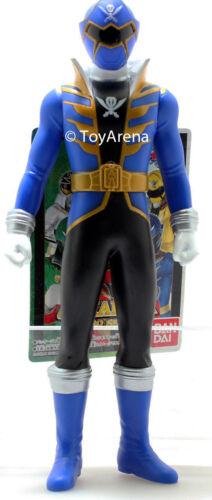 Power Rangers Kaizoku Sentai Gokaiger Gokai Blue Soft Vinyl Action Figure Bandai