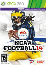BRAND NEW SEALED COLLEGE FOOTBALL -- NCAA Football 14 (Microsoft Xbox 360, 2013)