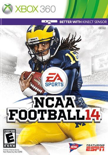 Ncaa Football 14 Xbox 360 2013 For Sale Online Ebay