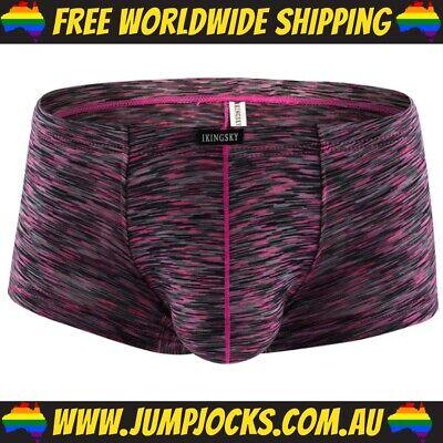 Gay *FREE SHIPPING WORLDWIDE* Sexy Underwear Silver Thong